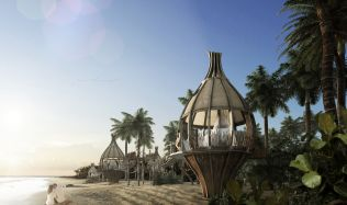 'Awakening Hotel' near Sian Ka'an, Mexico by Arquitectura en Movimineto