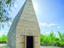 zdroj Galerie Architektury Brno/ Popisek: Kaple Votum Aleksa od studia Beton