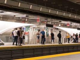 zdroj nypost.com Popisek: Nová stanice metra WTC Cortlandt