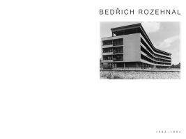 Titulní strana publikace Petra Pelčáka - Bedřich Rozehnal
