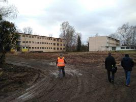 zdroj Adam Rujbr Architects Popisek: Stavba nové budovy depozitáře