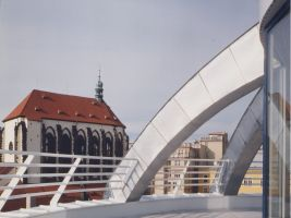 Budova TETA - střecha