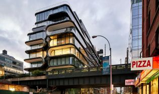 520 West 28th Street in New York, USA by Zaha Hadid Architects