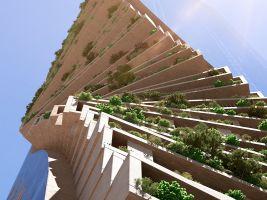 zdroj Norm Li Popisek: Budova bude mít tvar páteře