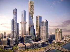 zdroj Norm Li Popisek: Stavba změní i čáru horizontu města