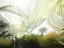 Vizualizace národního pavilonu Expo 2020