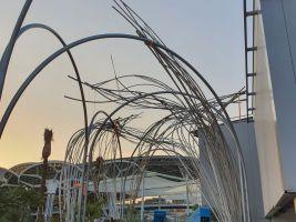Průběh výstavby národního pavilonu Expo 2020