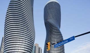 Absolute Towers near Toronto, Canada by MAD Architects