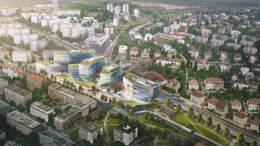 Administrativní centrum Bořislavka bude, developer a odpůrce se dohodli