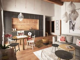 BL Popisek: Apartmány Borovice