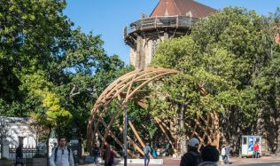 Arch for Arch, a monument for Desmond Tutu in Cape Town, South Africa by Snøhetta