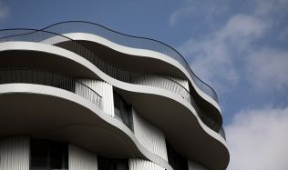 Architect Farshid Moussavi visiting Prague