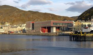 Arctic Cultural Center in Hammerfest, Norway by A-lab