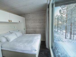 zdroj EIA/Slov Inn Jasná Tree Houses/ Popisek: Interiér stromové chatky