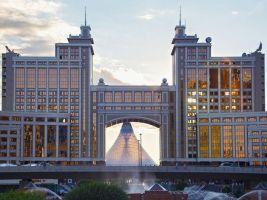 zdroj Shutterstock popisek: Sídlo společnosti KMG, která v Kazachstánu těží zemní plyn