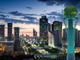 zdroj Shutterstock Popisek: Věž Baiterek, symbol města