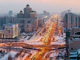 zdroj iStock Popisek: Astana se pyšní velkorysými bulváry