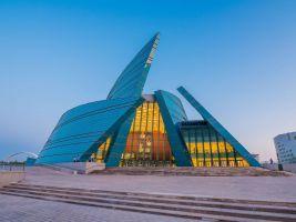 zdroj Shutterstock Popisek: Koncertní sál nazvaný prostě Kazachstán
