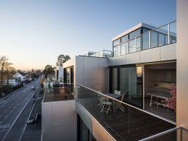 Balconies evening