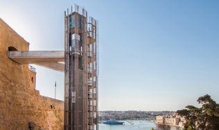 Barrakka Lift in Valletta, Malta by Architecture Project