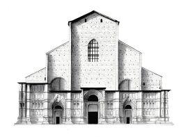 zdroj lorenzoconcas.com/ Popisek: Bazilika svatého Petra v Boloni