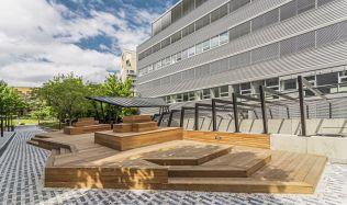 BB Centrum Brumlovka na Praze 4 se neustále rozvíjí, mění se i přilehlé okolí