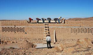 Bio-klimatická školka v Ouled Merzoug od BC Architects
