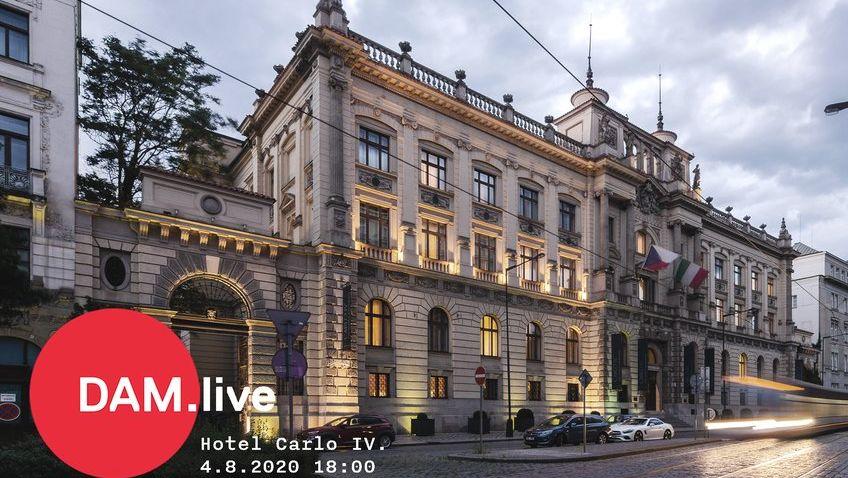 Blíží se další DAM.live. Tématem bude hotel Carlo IV. na Senovážném náměstí