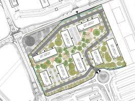 zdroj Penta Real Estate Popisek: Bydlení III, zastavovací plán
