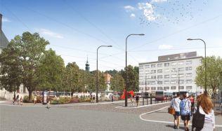 Brno opraví Mendlovo náměstí. Revitalizované bude za dva roky