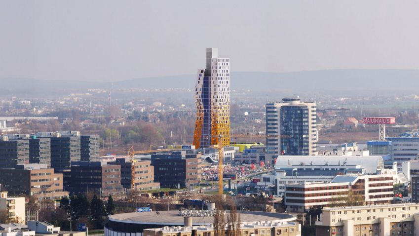 Brno staví výškové budovy. Jsou v souladu s přírodou a nezapomíná se ani na pohodlí