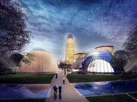 zdroj Studio Vertebra Popisek: Vizualizace nové čtvrti