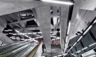 Budapešťská linka metra M4 od studia Spora