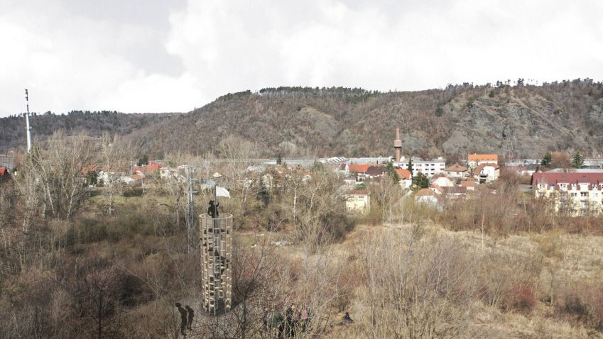 Budoucí architekti z Fakulty architektury pomohou uklidit Česko. Postaví také vyhlídkovou věž