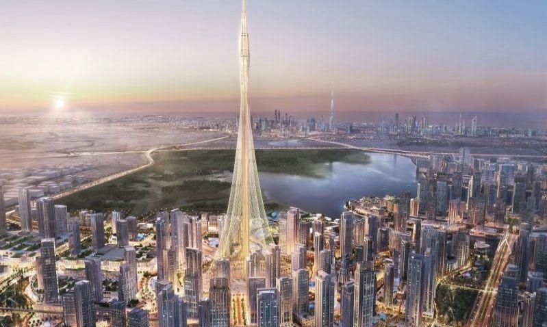 Budoucí nejvyšší stavba světa má úspěšně otestované základy