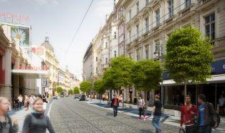 Budoucí proměna pražské ulice Na Poříčí: Chceme z ní udělat atraktivní prostor pro setkávání lidí