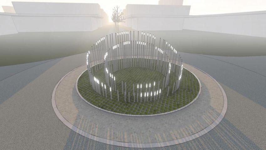 Budoucí slovenští architekti navrhovali kruhové objezdy