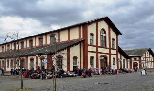 Budova bývalé burzy v Pražské tržnici v Holešovicích se dočká obnovy