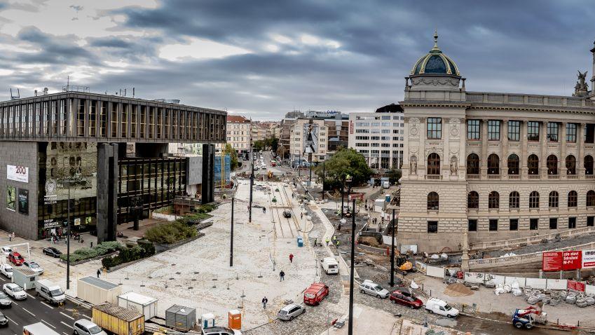 Budovy Národního muzea v Praze jsou konečně propojeny