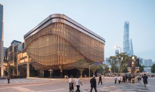 Bund Finance Centre in Shanghai, China by Foster + Partners and the Heathertwick Studio