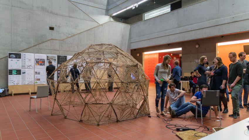 Bydlení na Marsu: Studenti architektury navrhli model vesmírného příbytku