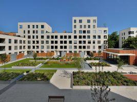 zdroj archinfo.sk Popisek: Bytové domy, Hájpark 1. etapa a Hájpark 2. etapa, Bratislava