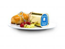 zdroj Trigema Popisek: Ukázka pokrmu ze Cyberdogu, Kachní Parfe Foie Gras