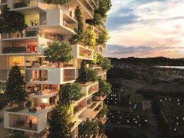 zdroj Stefano Boeri Architetti Popisek: Vertikální les