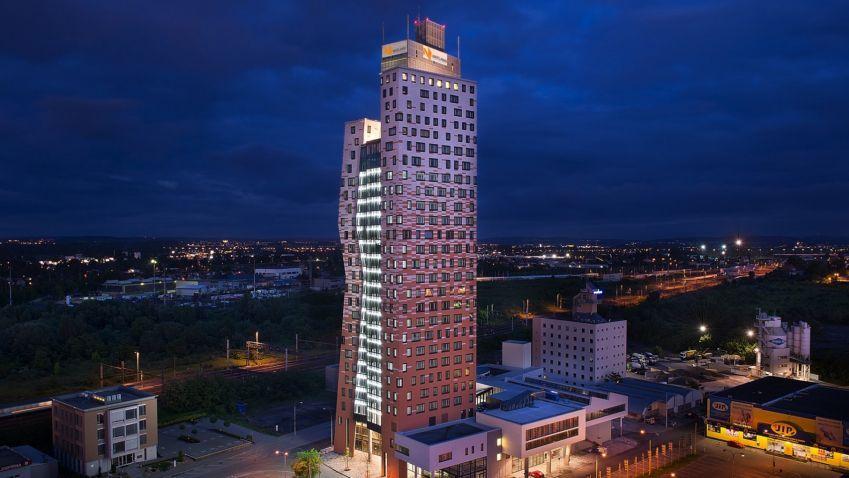 Cena TV Architect: Stále probíhá soutěž o nejlepší návrh na přeměnu nejvyšší budovy v České republice
