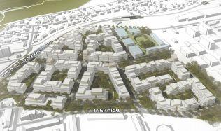 Central Group v Praze plánuje novou městskou čtvrť. Autorem projektu je architekt Jakub Cigler