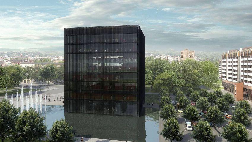 Černá kostka se v Ostravě stavět bude, architekti aktualizují její dokumentaci