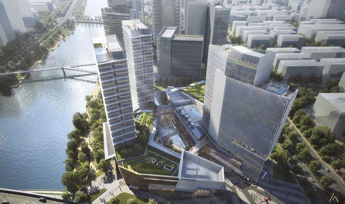Česká architektka zvítězila v mezinárodní soutěži. Podle ní vznikne v Číně komplex budov