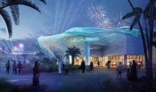 Český pavilon pro EXPO 2020 odhalen. Jeho technologie vyrábí vodu ze vzduchu
