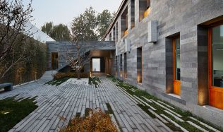 Courtyard by the West Sea in Beijing, China by META-Project